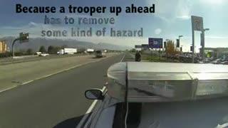 IMPORTANT: Police Slow Down Technique...