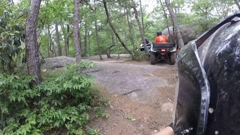brown mountain day two da rocks