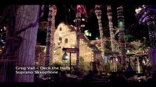 Santa Sax CD Track - Deck The Halls - Christmas Sax, Santa Saxophone Christmas Songs