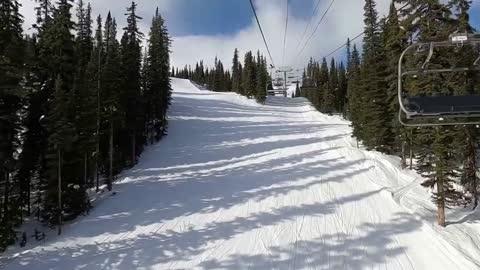 Ski trip Canada