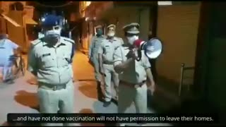 The Indian police state