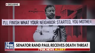 Senator Rand Paul says he takes the threats 'immensely seriously.