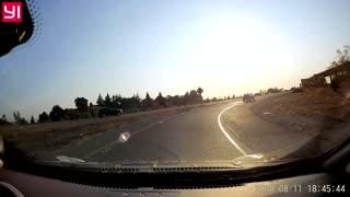 Airplane Makes Emergency Landing on Busy California Freeway