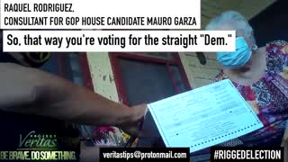 ELECTION FRAUD CAUGHT ON TAPE - HIGHLY ILLEGAL