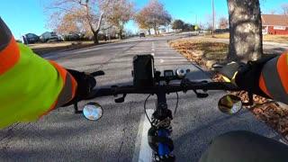 Kansas City After Work Bike Commute