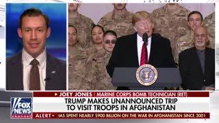 BREAKING: Trump Makes Surprise Visit To Troops In Afghanistan