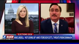 Mike Lindell: 'Not giving up' amid store boycotts, threats from Dominion
