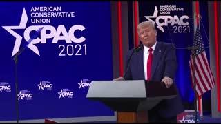 Watch Again Donald Trump speaks at CPAC 2021