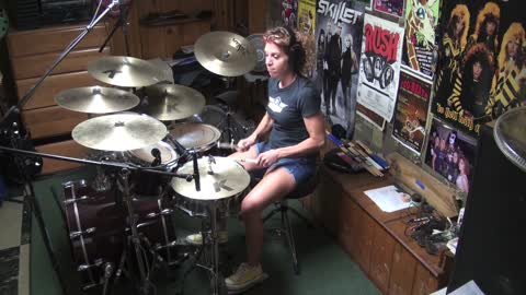Rock Steady by Bad Company ~ Drum Cover