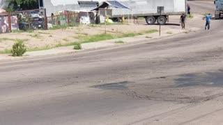 Driver Runs After Runaway Semi Truck