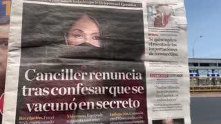 [Video] Escándalo en Perú: vacunas secretas para políticos contra el COVID