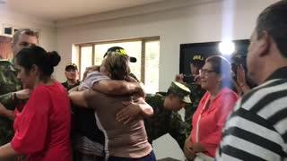 Ejército rescató a comerciante secuestrado en Santander