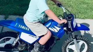 Dad Surprises Son with Dirt Bike