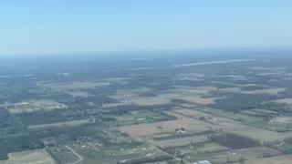 Flying into Osu