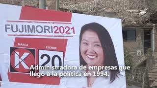 Cinco candidatos que pugnan por pasar a la segunda vuelta en Perú