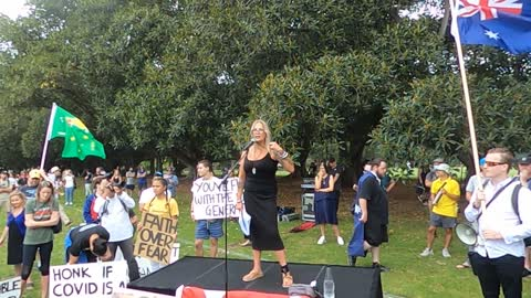Millions March Melbourne - Jacquie Dundee