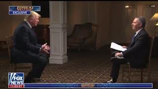 President Trump With Greg Gutfeld