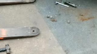 Flatbed repair.