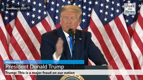 Trump: This is a major fraud on our nation