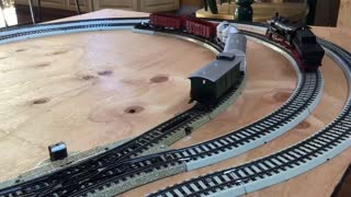 Small collection of HO scale Marklin Trains
