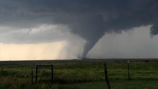 The huge tornado