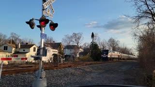 Amtrak in slow motion
