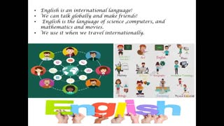 English Is Important With Lesson Leader Rahma