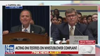 Schiff final remarks whistleblower hearing Part 2