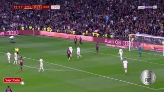 Real Barcelona goals 0 - 3 27.2.2019