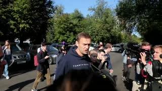 Navalni lucha por su vida en un hospital siberiano