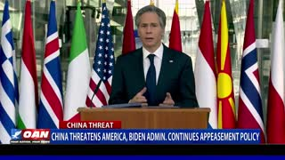 China threatens America, Biden admin. continues appeasement policy