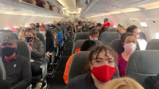 Patriots On Their Way To Prayer Rally Protest In Washington DC
