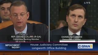 Doug Collins grills Goldman