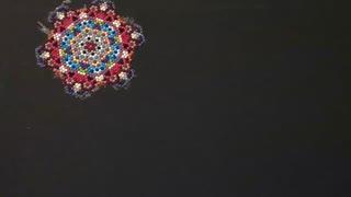 Freeform Mandala Diamond