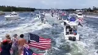 MAGA Boat Parade Florida