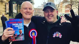 Britain First day of action in Manchester!