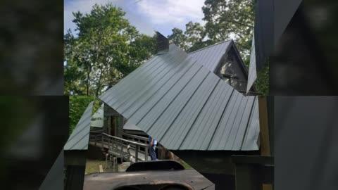 Aframe Roof Upgrade