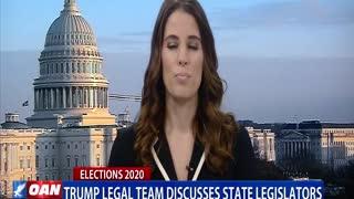 Trump legal team discusses state legislators