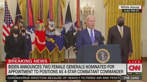 Biden buffoons' his way again