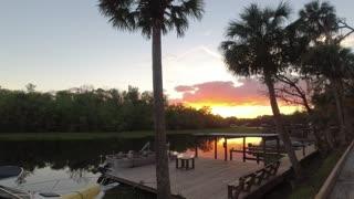 A peaceful Florida SUNSET