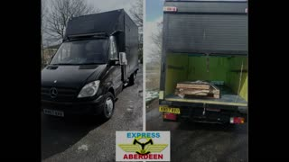 Aberdeen Express Delivery Service and recovery cars