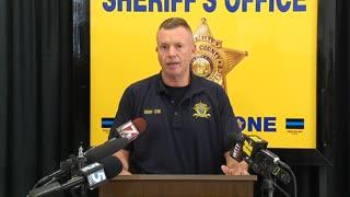 Nash County Sheriff Press Conference Regarding Deputy Jared Allison's Condition After Violent Crash