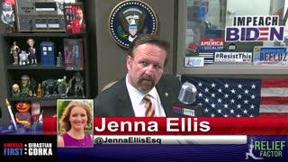 Ronna Romney McDaniel has to go. Jenna Ellis with Sebastian Gorka on AMERICA First