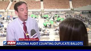 Ariz. audit counting duplicate ballots