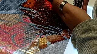 Diamond Paint With Me/ True Crime Story