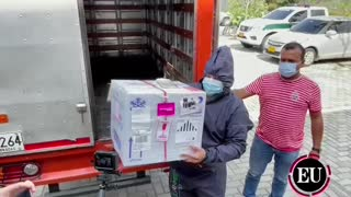 Llegan las primeras vacunas Covid a Cartagena