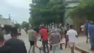 Protestas en Cuba contra la dictadura