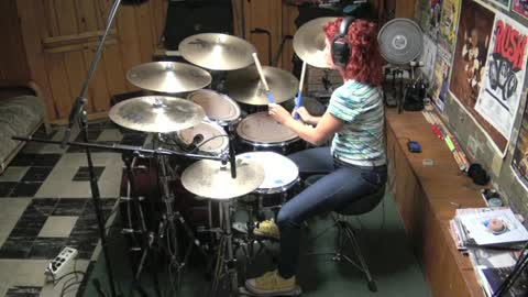 More Than A Feeling by Boston ~ Drum Cover