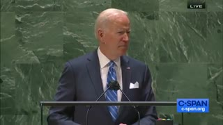 """Joe Biden accidentally calls the United Nations the """"United States"""""""