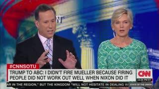 Rick Santorum praises Trump for pushing 'limits of presidential power'